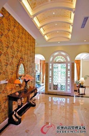 客厅大门框造型图片