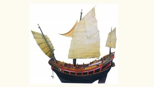 独木舟简笔画 古代