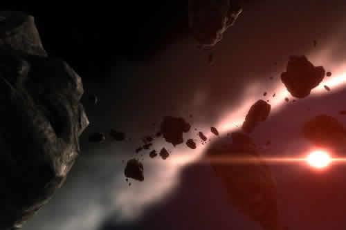 地球与木星相推撞
