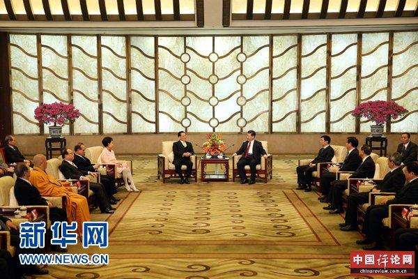 两岸同胞要携手同心共圆中国梦